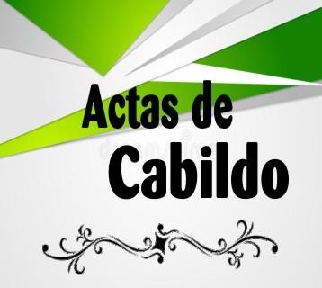Actas Cabildo 19 - 21
