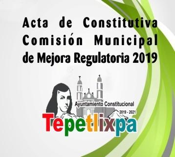Acta constitutiva MR19